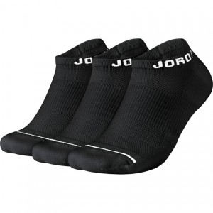 UNISEX JORDAN JUMPMAN NO-SHOW SOCKS (3 PAIR)